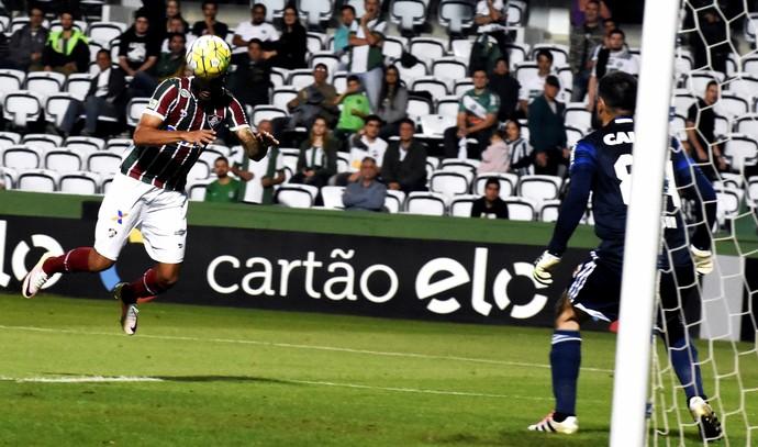 giovanni fluminense chance perdida coritiba (Foto: Mailson Santana / FluminenseFC)