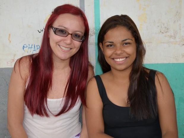 Para estudantes, redação foi fácil, mas prova de matemática teve alto grau de dificuldade  (Foto: Andréia Machado/G1)