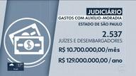 TJ vai prestar contas ao CNJ sobre salários e extras dos juízes