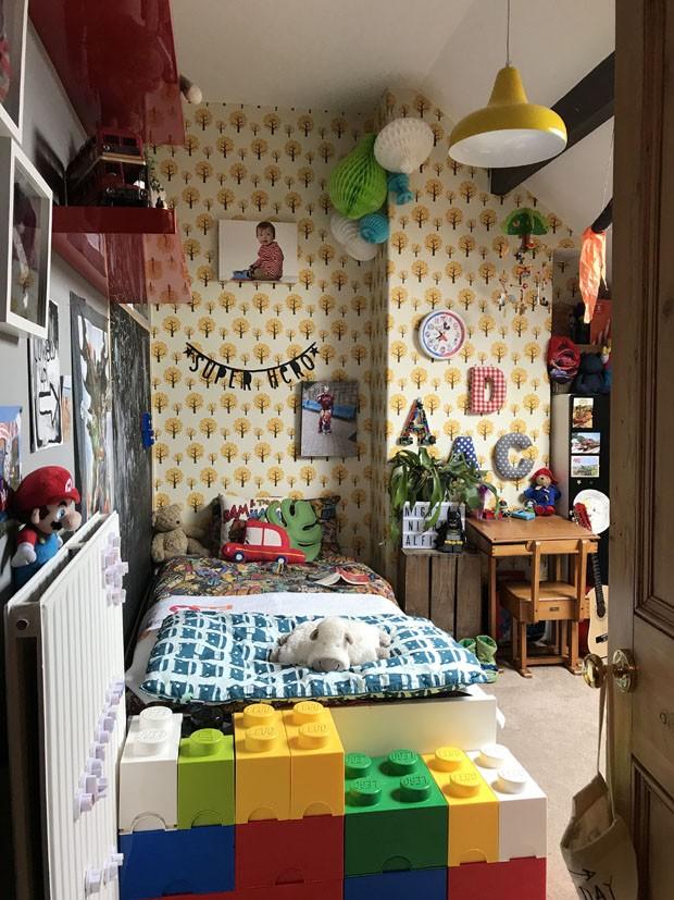 Décor do dia: decoração maximalista é protagonista de quarto infantil (Foto: Divulgação)