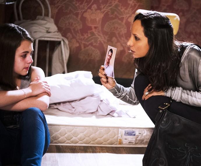 Amor à Vida: Maria Maya em cena com a atriz Klara Castanho (Foto:  Globo/João Miguel Júnior)