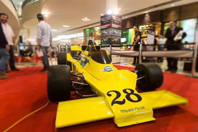 Carros da Copersucar estão expostos ao público em evento em São Paulo (Foto: Divulgação)