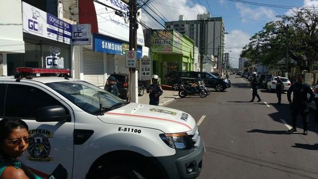 Funerária para onde foi levado o corpo de Domingos Montagner (Foto: ASCom da SSP de Sergipe / AgNews)