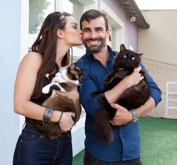 Laura Keller e Jorge Sousa (Foto: Adriana Barbosa/ Divulgação/ Agência Fio Condutor)