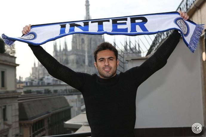 Eder cachecol Internazionale (Foto: Site oficial Internazionale)