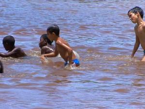 Cachoeira Juiz de Fora (Foto: Reprodução/TV Integração)