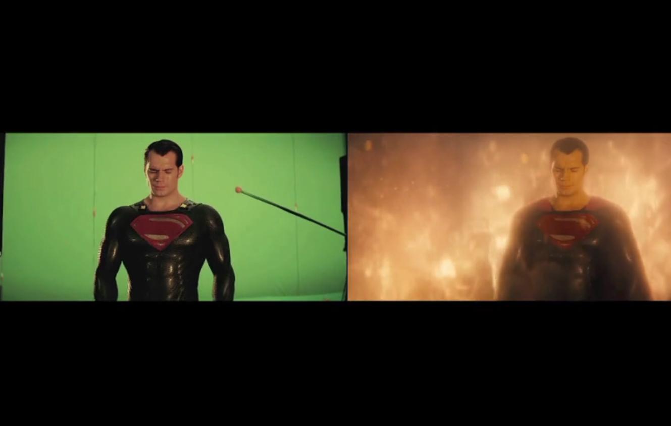 Making of dos efeitos especiais de Batman vs Superman (Foto: Reprodução/Vimeo)