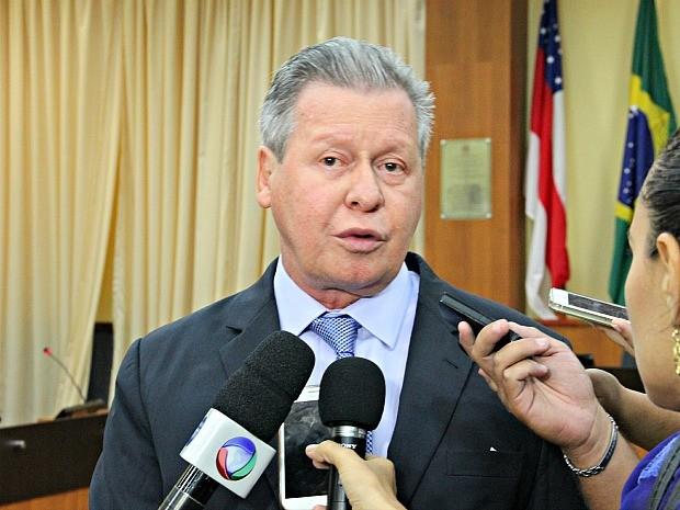 Artur Neto comemora escolha de Manaus como uma das sedes do torneio olímpico de futebol (Foto: Diego Toledano/G1 AM)