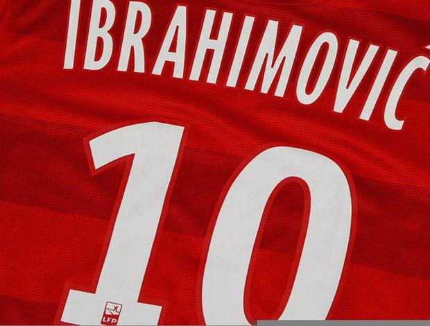 ibrahimovic camisa 10 (Foto: Reprodução)