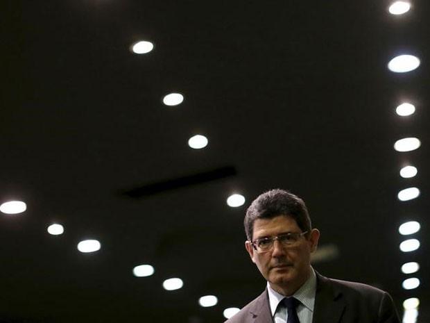 Ministro da Fazenda, Joaquim Levy, após participar de seminário no dia 22 de setembro.  (Foto: REUTERS/Ueslei Marcelino)