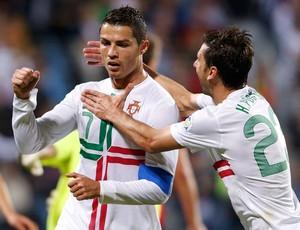 Cristiano Ronaldo gol Portugual (Foto: Reuters)