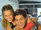 Bromance? Arthur Aguiar e Isabella Santoni vão viver amigos inseparáveis no tatame