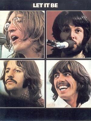 Detalhe da capa de 'Let it be', lançado em 8 de maio de 1970 (Foto: Reprodução)