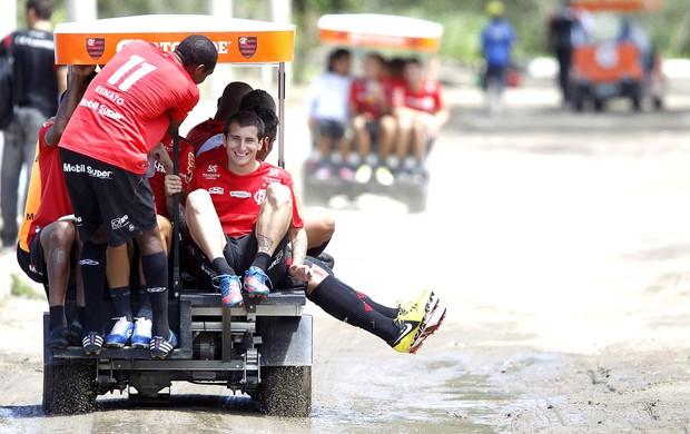 Renato Abreu e Botinelli, Flamengo (Foto: Ivo Gonzalez / Agência o Globo)