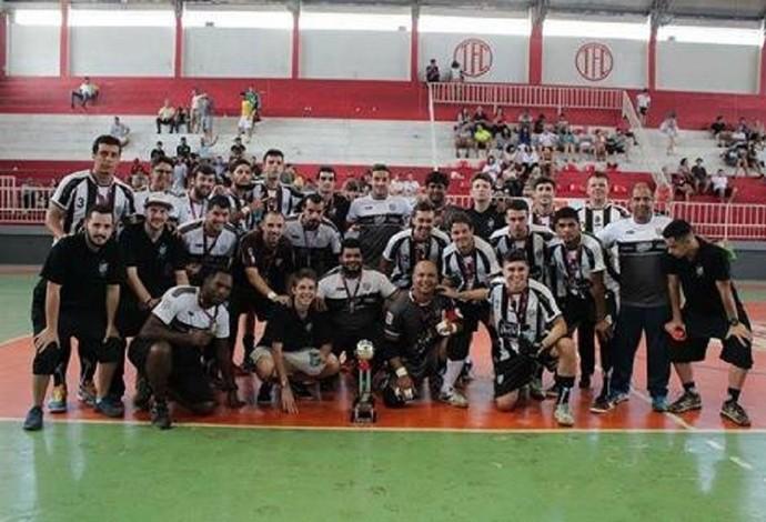 futsal tupi-MG vice-campeão mineiro 2016 (Foto: Divulgação/Assessoria de Imprensa Tupi Futsal)