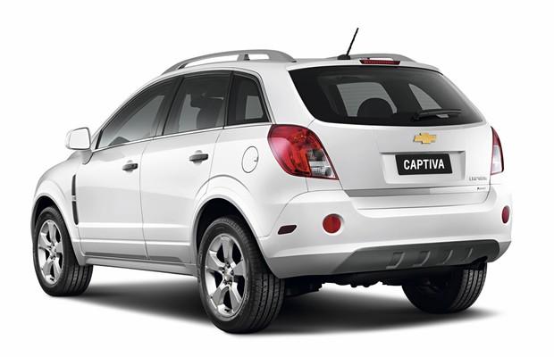 Chevrolet Captiva 2015 (Foto: Divulgação)