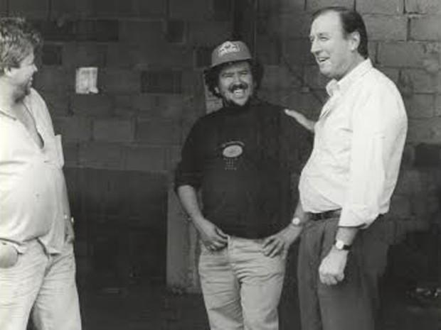 Eymael durante a campanha, em 1990 (Foto: Divulgação)