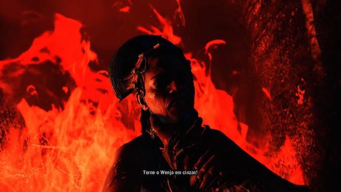 Far Cry Primal: confronto contra Batari requer estratégia (Foto: Reprodução/Victor Teixeira)