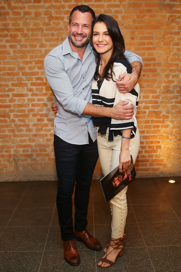 Malvino Salvador e Kyra Grace (Foto: Manuela Scarpa/Brazil News)