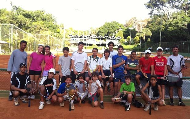 Equipe Uirapuru Iate Clube de Tênis (Foto: Luiz Vieira/GLOBOESPORTE.COM)