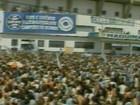 Grêmio é recebido por multidão no Estádio Olímpico (Reprodução)