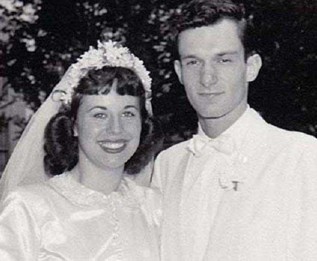 Hugh Hefner foi casado de 1949 a 1959 com Mildred Williams (Foto: Divulgação)