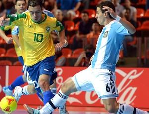 jogo Brasil Argentina Futsal mundial (Foto: FIFA.com via Getty Images)