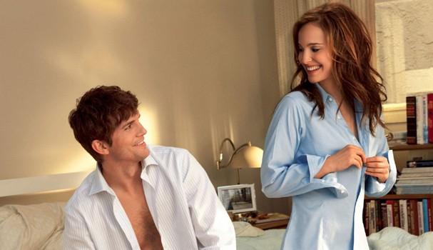 """Ashton Kutcher e Natalie Portman em cena de """"Sexo sem Compromisso"""" (Foto: Divulgação)"""