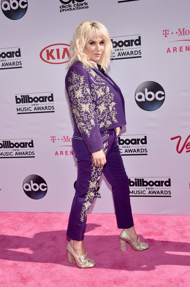 Kesha no Billboard Music Awards (Foto: AFP)