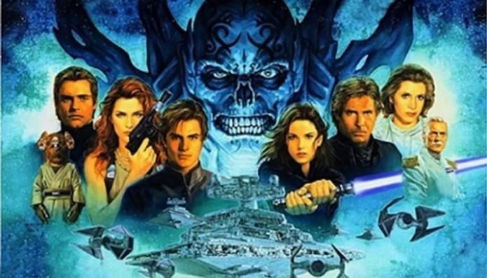 O Universo Expandido de Star Wars está presente em quadrinhos, livros e games (Foto: Divulgação)