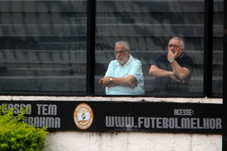 Eurico e Angioni (Foto: Paulo Fernandes/Vasco.com.br)