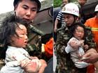 Chega a 102 o número de mortos após terremoto em Sichuan, na China