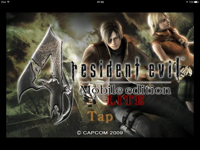 Resident Evil 4 possui duas versões para celular (Foto: Reprodução/Felipe Vinha)
