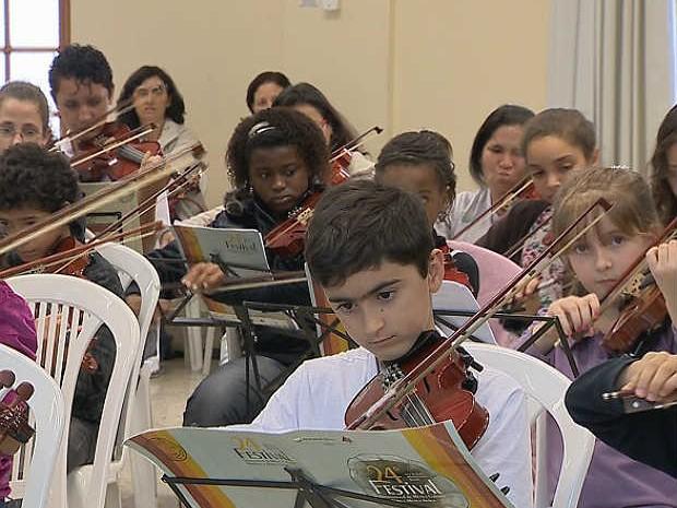 Festival de Música Colonial Brasileira e Música Antiga Juiz de Fora 1 (Foto: Reprodução/ TV Integração)