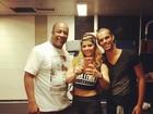 Depois de salão, Vivi Araújo e Aílton Graça treinam dança de Beyoncé