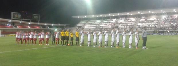 CRB e Campinense se enfrentaram no Estádio Rei Pelé (Foto: Paulo Victor Malta / Globoesporte.com)