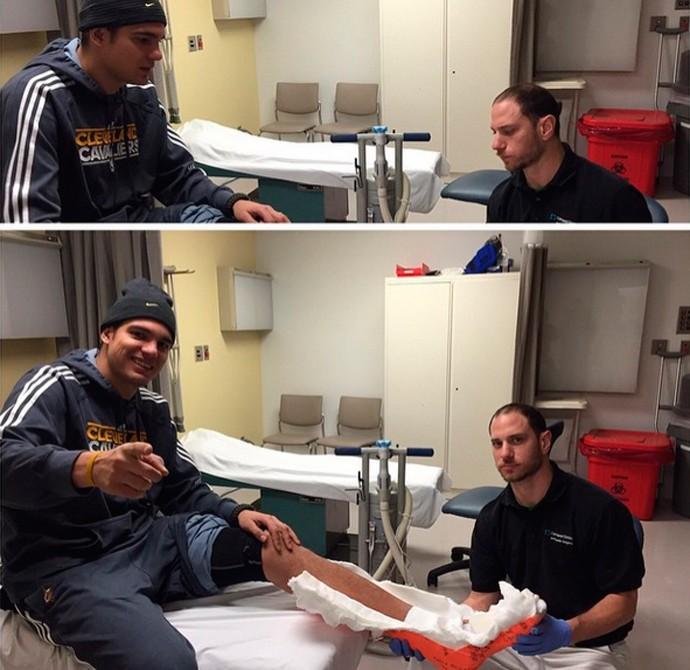 anderson varejão tratamento basquete (Foto: Reprodução)