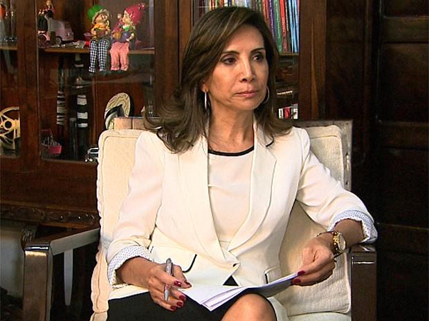 Poderá haver demissão, diz prefeita Dárcy vera sobre contenção de gastos (Foto: Ronaldo Gomes/EPTV)
