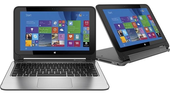 Notebook 2 em 1 HP 11-N127BR (Foto: Divulgação/HP)  (Foto: Notebook 2 em 1 HP 11-N127BR (Foto: Divulgação/HP) )