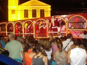 Caminhão do Canto de Natal - Ampla (Foto: Divulgação)