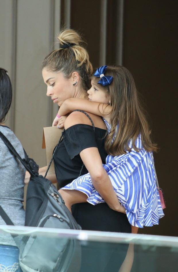 Grazi com a filha Sofia (Foto: AgNews/Ag.News)