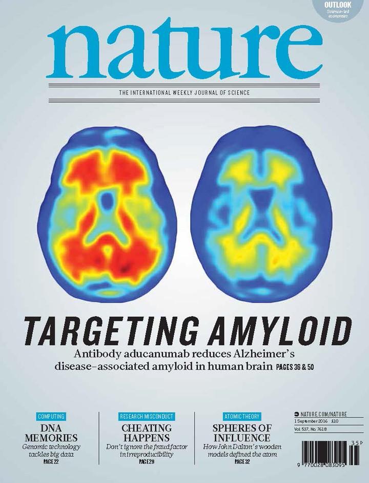 Capa da revista Nature (Foto: Nature)
