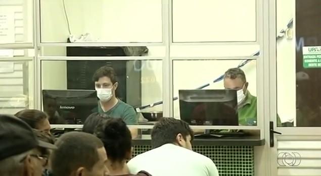 Cinco pacientes contraem H1N1 e um deles morrem em Goiás, diz secretaria (Foto: Reprodução/TV Anhanguera)