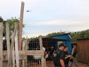 Oito pessoas foram presas nesta quinta (Foto: Divulgação/Polícia Civil)