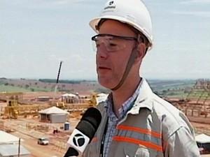 Gustavo Horbachi, gerente de projetos (Foto: TV Integração/Reprodução)