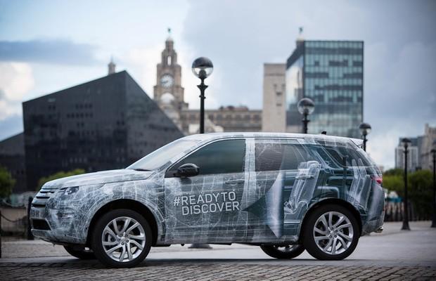 Land Rover Discovery Sport terá sete lugares
