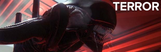 'Alien: Isolation' traz muito terror (Foto: Divulgação/Sega)