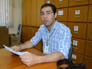 Tiago Paulino Jorge, coordenador do Sisbov em Mato Grosso do Sul (Foto: Anderson Viegas/Do G1 MS)