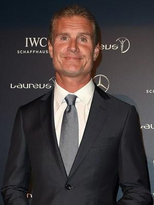 David Coulthard, prêmio Laureus (Foto: Divulgação)