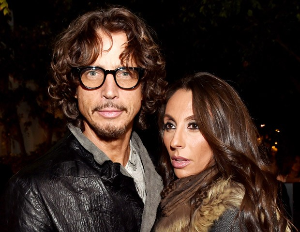 Chris Cornell e a mulher, Vicky Cornell (Foto: Getty Images)
